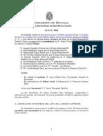 Acta Junta Distrito Chana mayo 2014