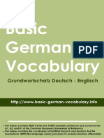 Basic German Vocabulary