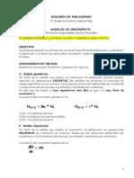 Práctica 4. Modelos de Crecimiento Poblacional