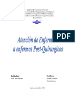 ATENCION DEENFERMERIA A ENFERMOS POST_QUIRURGICOS