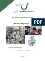 Residuos Hospitalares Trabalho