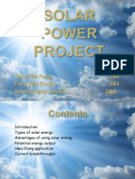 solar power project 2