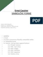 Ernst Cassirer -''Simboličke forme''
