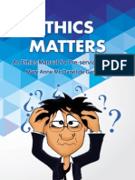 ethics and matters mary anne mc danel de garca