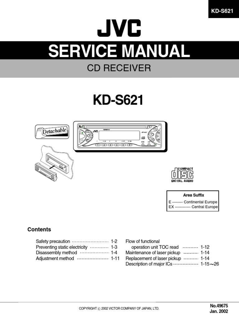 1508477064 jvc kd s621 service manual power supply electrostatic discharge jvc kd s26 wiring diagram at crackthecode.co