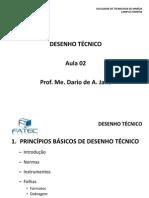 Desenho Tecnico Aula 2 Principios Basicos de Desenho Tecnico