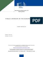 Eurobarometer - Public Op EU