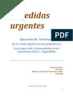 5 Medidas Urgentes Pedro Aguierre Cerda Primera