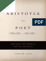 Aristo Tile as a Poet