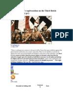 Shoghi Effendi's Equivocation on the Third Reich - Hitler & Shoghi Pt.1