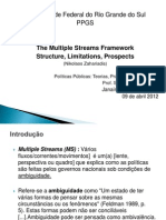 The Multiple Streams Framework
