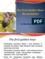 The First Golden Hour Neonatal Resuscitation
