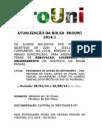 Atualizacao Bolsa Prouni