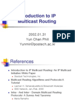 Introduction to IP Multicast Routing