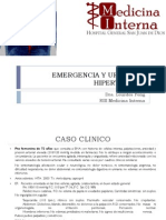 Clase Crisis Hipertensiva Dra Fong