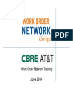 CBRE-ATT- Vendor Training (WON - Work Order Network) 5-20-14