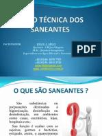 Curso Sobre Saneantes - Visão Técnica - Químico Régis Melo