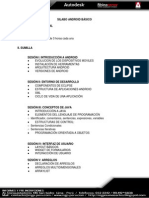 Plan Curricular Android