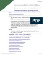 Compiler Le Noyau Linux Sur Debian Et l'Installer