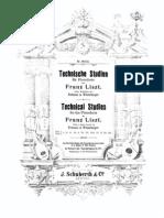 Technische Studien, S.146 (Liszt, Franz) Book 3