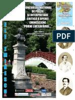 Zilele Eminescu - iunie 2014