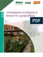 Amenajarea Ecologica Si Placuta a Gospodariei Taranesti