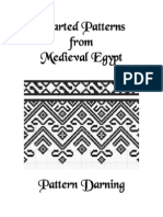 Charted Patterns from Medieval Egypt - Pattern Darning