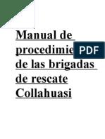 Manual de Procedimientos de Las Brigadas de Rescate1