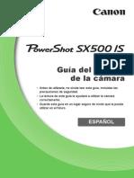 PowerShot SX500 is CameraUserGuide ES