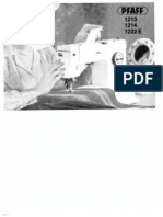 Manual Pfaff 1222e