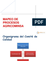 MAPEO PROCESOS ISO9001