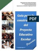 Guía Para La Construccion Del PEE-PREESCOLAR 2014-2015