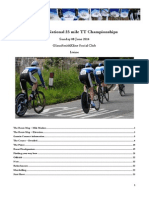 Scottish Cycling National 25 Time Trial - Race Information (Prov)