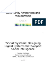 Community Awareness and Visualization-Scribd