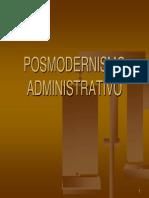 POSMODERNISMO ADMINISTRATIVO