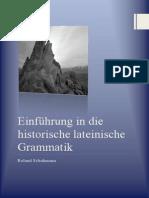 Einführung in Die Historische Lateinische Grammatik