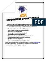 Employment Opportunities 6 2 2014