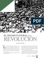 El Legado Cultural de La Revolucion
