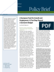 A European Fund for Growth and Employment