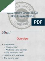 BSILI 2014 DIG Preso Slides v2.0