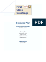 Greeting Card Business Plan