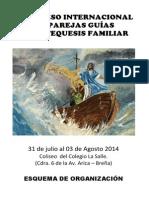 Programa Del Congreso de Catequesis Familiar 2014.