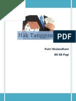 Paper Hak Tanggungan