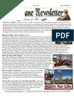 Gethsemane Newsletter June 2013