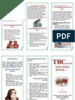 Leaflet Tbc n Etika Batuk