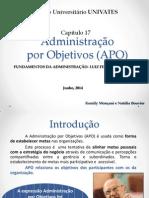 Administração Por Objetivos (APO) 2