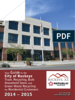 2014-2015 Solid Waste Brochure - City of Buckeye