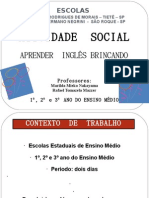 Atividade Social- Aprender Inglês Brincando