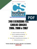 240 Questões de Provas de Informática Da FCC (2005, 2006 e 2007)