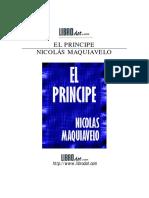 Maquiavelo Principe El